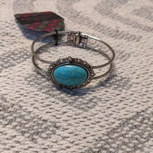 New turquoise cuff bracelet